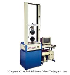 Computer Controlled Ball Screw Driven Testing Machines