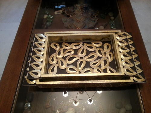 Wooden Carving Serving Tray