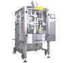 Automatic High Speed Intermittent Motion Vertical Pouch Packing Machine with  Filler