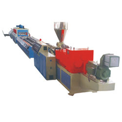 single screw extruder for pvc profile