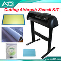 Pressure Cutting Plotter Cut Mylar Airbrush Stencil Cutter