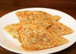 Sweet Gulab Paratha