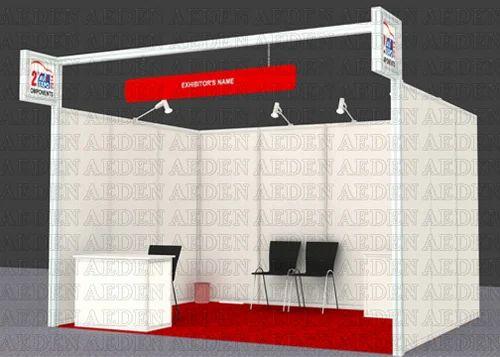 Exhibition Stall Decoration Ideas : Exhibition stall maxima shell scheme stand manufacturer