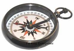 Antique Lokate Brass Compass
