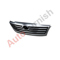 autofurnish full front grill chrome for toyota fortuner