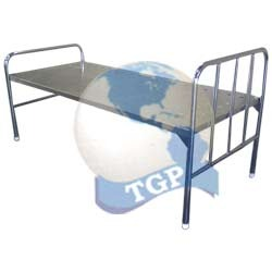 stainless steel hospital bed simple