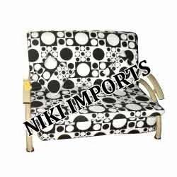 2 Seater Cushion Sofa Set - Fabric