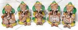 Music Set Ganesh Statue