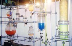 glass distillation unit on glr