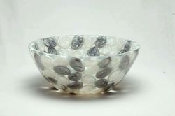 "15"" Grey & White Pearl Pebbles Washbasin"