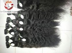 Human Curly Black Hair