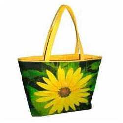 Sun Flower Printed Promotional Bag