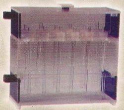 bar gel polyacrylamode electrophoresis apparatus