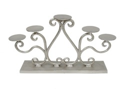 Aluminum Candle Pillar Holder