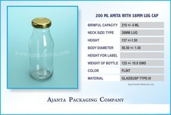 200 Ml Amita With 38 Mm Lug Cap