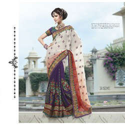 Indian Bollywood Designer Wedding Sarees