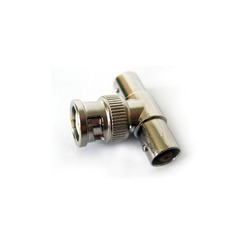 BNC (M) to 2 BNC (F) Adapter