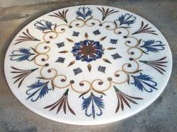 Brass Inlays In Marble