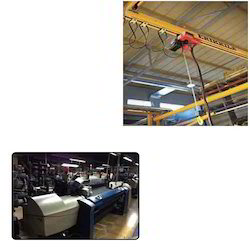 Flat Cable Trolleys for Textile Industry
