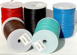 Leather Cords in Various Colors for Jewelry Makers