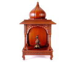 Ethnic Wooden Temple