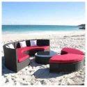 Outdoor Sectional Sofa Set