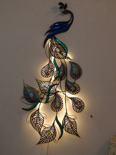 Designer Wall Decor home decor products - led peacock designer wall decor manufacturer