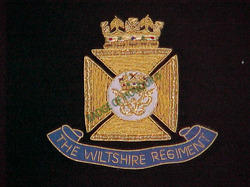 Wiltshire Regiment Blazer Badges