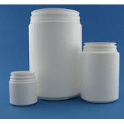 HDPE Wide Mouth Round Container