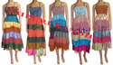 summer dress indian saree patchwork summer long dress multiwear