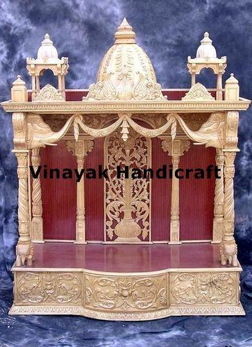 Wooden Temple Wooden Carving Temple Manufacturer From