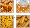 Crunchy Soya Flour Sticks Snacks production line