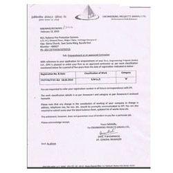 Registration Certificate - 4