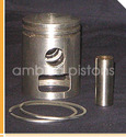Pistons And Piston Rings (Atlas Moped)