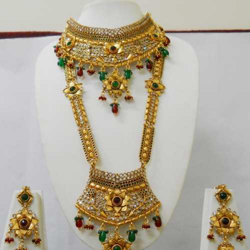 High Gold Jewelry High Gold Bridal Sets Manufacturer from Mumbai