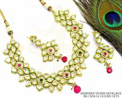 Kundan Vilindi Necklace Set