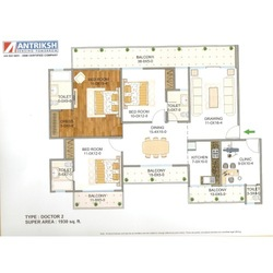Three Bedroom Flats in Delhi - NCR