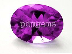 African Amethyst Faceted Gemstone