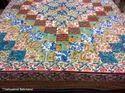 Patchwork Dohar Bed Sheet