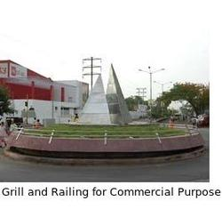 Grill & Railing for Commercial Use