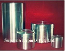 Tea Leaves Aluminum Canister