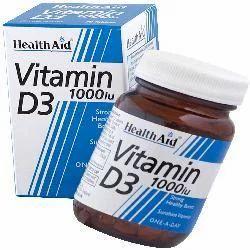 Vitamin D3 1000iu (Cholecalciferol) 30 Tablets