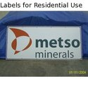 Labels for Residential Use