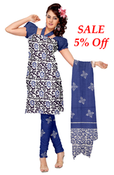 Pure+Cotton+Batik+Block+Print+Salwar+Kameez+Suits
