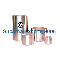 Aluminum Push Lid Canisters