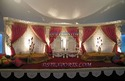 Muslim Wedding Stage Backdrop