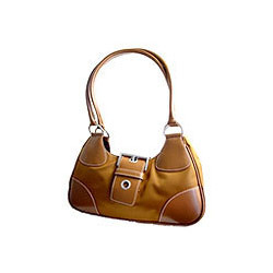 Ladies Yellow Leather Bag