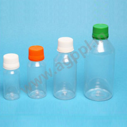 round pharma bottle t