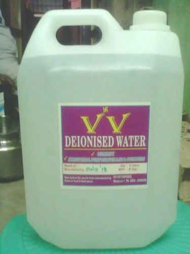 deionised distilled water