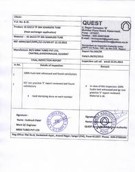 Quest Associates - Release Note